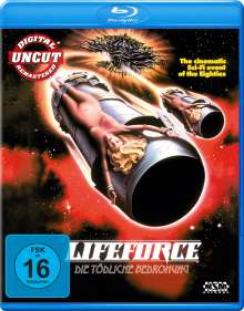 Lifeforce - Die tödliche Bedrohung (Blu-ray), Blu-ray Disc
