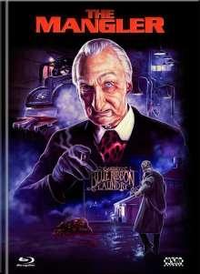 The Mangler (Blu-ray & DVD im Mediabook), 1 Blu-ray Disc und 1 DVD