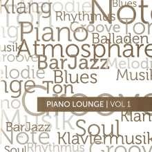 Piano Lounge | Vol 1 Liebhaber für Klaviermusik, Barpiano u.ä., CD