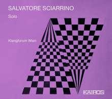 Salvatore Sciarrino (geb. 1947): Kammermusik - Solo, CD