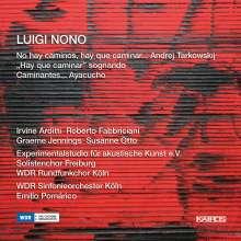 Luigi Nono (1924-1990): Caminantes...Ayacucho für Sopran, Chor, Orchester & Elektronik, 2 CDs