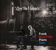 Frank Muschalle: Live In Vannes: Piano Solo, CD