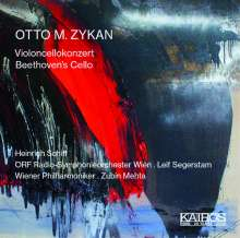 """Otto M. Zykan (1935-2006): Cellokonzert """"Auf der Suche nach konventionellen Gefühlen"""", CD"""