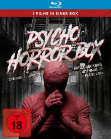 Psycho Horror Box (Blu-ray), 3 Blu-ray Discs