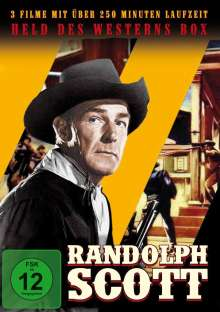 Randolph Scott – Held des Westerns Box, 3 DVDs