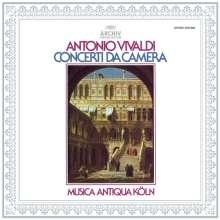 Antonio Vivaldi (1678-1741): Concerti da Camera (180g), LP