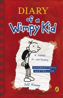 Jeff Kinney: Diary of a Wimpy Kid 01, Buch