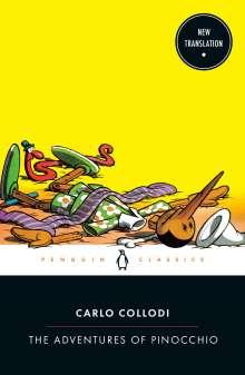 Carlo Collodi: The Adventures of Pinocchio, Buch