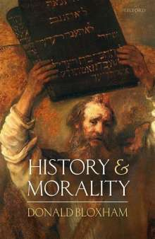 Donald Bloxham: History and Morality, Buch