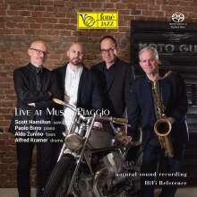 Scott Hamilton, Paolo Birro, Aldo Zunino & Alfred Kramer: Live At Museo Piaggio (Natural Sound Recording), Super Audio CD