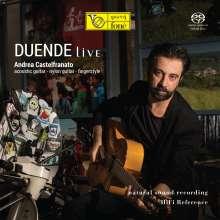 Andrea Castelfranato: Duende Live (Natural Sound Recording), Super Audio CD