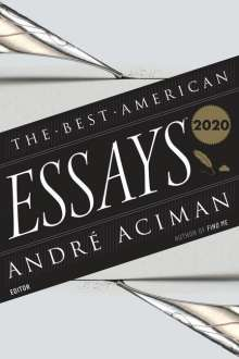 The Best American Essays 2020, Buch