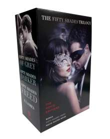 E. L. James: Fifty Shades 3 Copy Boxed Set. Media Tie-In, Buch