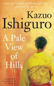 Kazuo Ishiguro: A Pale View of Hills, Buch