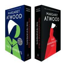 Margaret Atwood (geb. 1939): The Handmaid's Tale and The Testaments Box Set, 2 Bücher