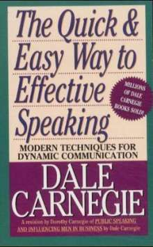 Dale Carnegie: The Quick and Easy Way to Effective Speaking, Buch