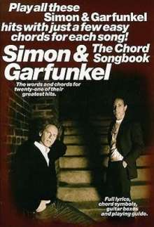 Paul Simon: Simon and Garfunkel The Chord Songbook, Noten