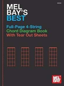 Mel Bay's Best Full-Page 4-String Chord Diagram Book, Noten