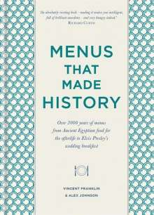 Alex Johnson: Menus that Made History, Buch
