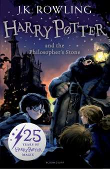 Joanne K. Rowling: Harry Potter 1 and the Philosopher's Stone, Buch