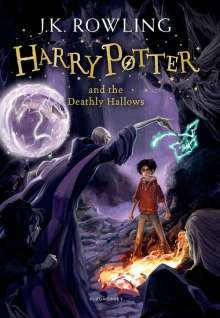 Joanne K. Rowling: Harry Potter 7 and the Deathly Hallows, Buch