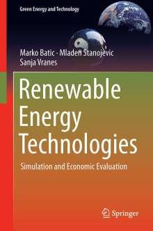 Marko Batic: Renewable Energy Technologies, Buch