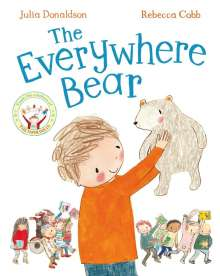 Julia Donaldson: The Everywhere Bear, Buch