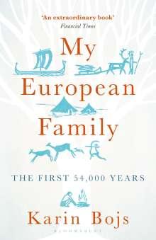Karin Bojs: My European Family, Buch