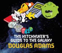 Douglas Adams: The Hitchhiker's Guide to the Galaxy. Film Tie-in. 5 CDs, CD