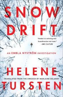Helene Tursten: Snowdrift, Buch
