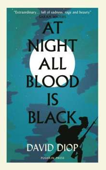 David Diop: At Night All Blood is Black, Buch