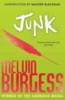 Melvin Burgess: Junk, Buch