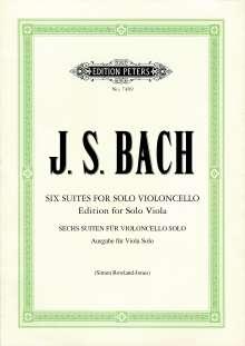 Johann Sebastian Bach: Sechs Suiten für Violoncello solo BWV 1007-1012, Noten