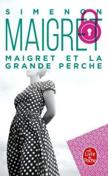 Georges Simenon: Maigret et la Grande Perche, Buch