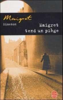 Georges Simenon: Maigret tend un piege, Buch