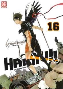 Haruichi Furudate: Haikyu!! 16, Buch
