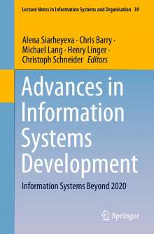 Advances in Information Systems Development, Buch