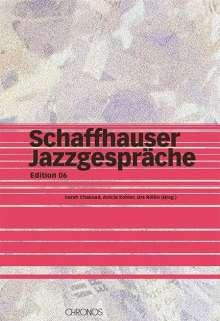 Schaffhauser Jazzgespräche, Buch