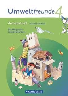 Gerhild Schenk: Umweltfreunde 4. Schuljahr. Arbeitsheft Sachsen-Anhalt, Buch