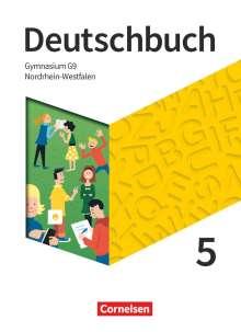 Christine Eichenberg: Deutschbuch Gymnasium - Nordrhein-Westfalen - 5. Schuljahr - Schülerbuch, Buch
