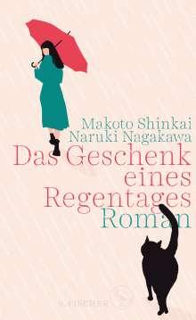 Makoto Shinkai: Das Geschenk eines Regentages, Buch