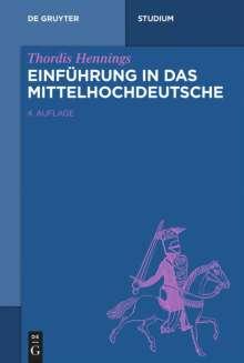 Thordis Hennings: Einführung in das Mittelhochdeutsche, Buch
