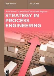Jordi Bonet: Strategy in Process Engineering, Buch