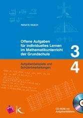 Renate Rasch: Offene Aufgaben für individuelles Lernen im Mathematikunterricht der Grundschule 3./ 4. Schuljahr, Buch