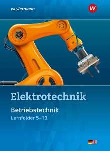 Michael Dzieia: Elektrotechnik. Betriebstechnik / Lernfelder 5 - 13. Schülerband, Buch