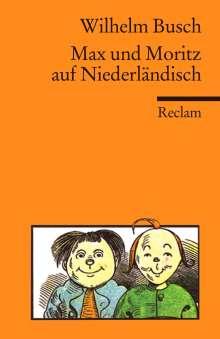 Wilhelm Busch: Max und Moritz auf Niederländisch, Buch