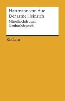 Hartmann von Aue: Der arme Heinrich, Buch