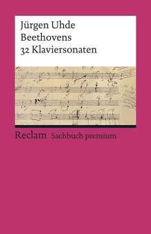 Jürgen Uhde: Beethovens 32 Klaviersonaten, Buch