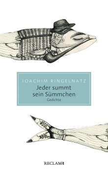 Joachim Ringelnatz: Jeder summt sein Sümmchen, Buch