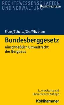 Reinhart Piens: Bundesberggesetz, Buch